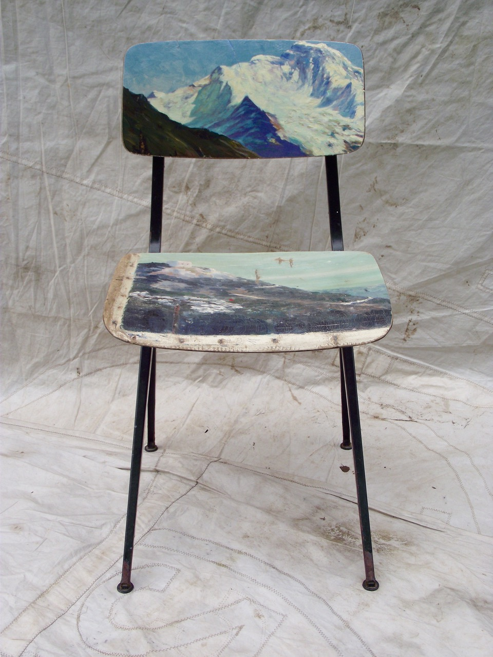 LESLIE oschmann swarm home chairs paintings